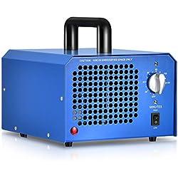 GCSJ 3000 a 7000 mg/h Generatore Commerciale di Ozono, Timer Regolabile, Controllo del Flusso, Sabbiosi, Aria Sterilizzatore, Disinfezione, Riduzione della Formaldeide e per Eliminare gli Odori