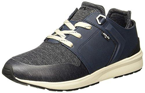 Levi's Men's Black Tab Runner Dark Blue Sneakers -7 UK/India (40.5)(8 US)_77127-4671_Blue