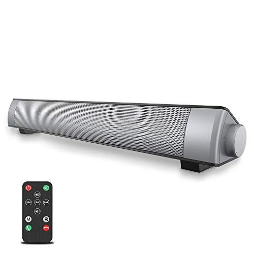 VersionTECH. Soundbar per PC Bluetooth Altoparlante cablato e wireless, Altoparlante stereo con...