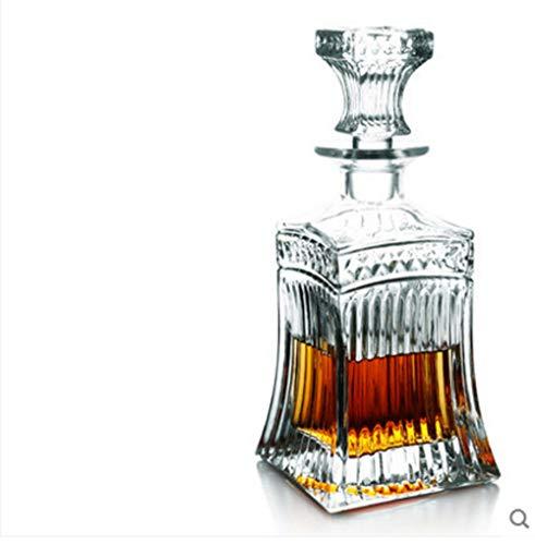 ZIDAJINC Cantinetta in Cristallo, Grande Decanter per Vino, Bottiglia Domestica, Contenitore per...