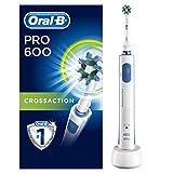 Oral-B Pro 600 CrossactionSpazzolino Elettrico Ricaricabile