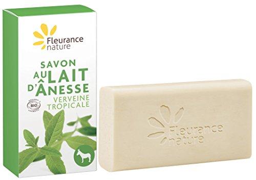 Fleurance-Nature-Savon-au-Lait-dnesse–la-Verveine-Tropicale-Cosmtique-Bio-100-g