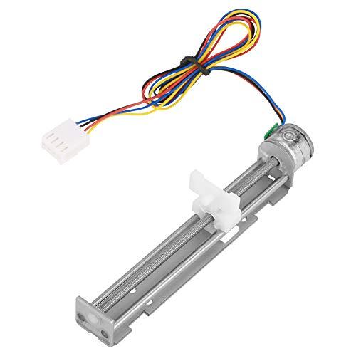 Caratteristiche: 100% nuovo e di alta qualità.  Spostando 0,25 mm per un passo, è possibile utilizzare il driver microstep se necessario più piccolo.  La velocità lineare massima è di 25 mm al secondo.  Ampiamente usato per dispositi...