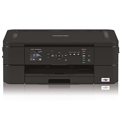 Brother DCPJ572DW Stampante Multifunzione Inkjet a Colori A4 con Connettività Wireless e Display...