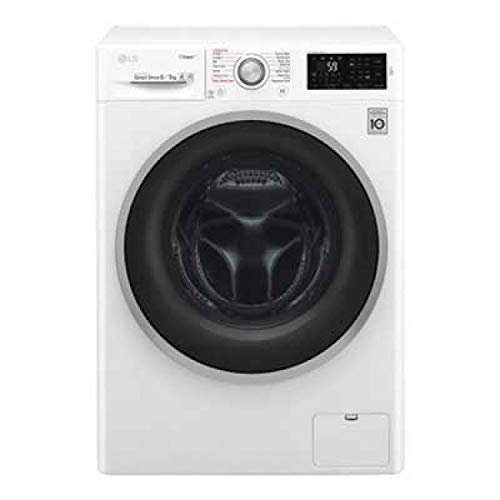 LG F4J6TG1W Independiente Carga frontal A Blanco lavadora - Lavadora-secadora (Carga frontal, Independiente, Blanco, Izquierda, Giratorio, Tocar, LED)