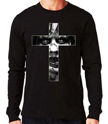 35mm - Camiseta Manga Larga The Exorcist- El Exorcista Cruz, Hombre 3