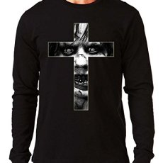 35mm – Camiseta Manga Larga The Exorcist- El Exorcista Cruz, Hombre