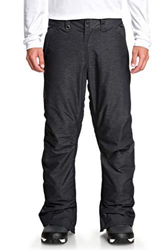 QUIKSILVER Estate, Pantaloni da Sci/Snowboard Uomo, Dark Grey Heather, S