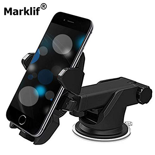 Marklif 360 Degree Adjustable Universal Car Mobile Phone Holder (Car Mobile Holder) Click to Open expanded View