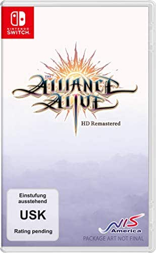 The Alliance Alive HD Remastered - Awakening Edition [Nintendo Switch]
