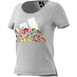 adidas Bos Flower Tee, Maglietta Donna