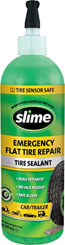 Slime 10011 16 oz Tire Sealant Tyre Inflator(Green)
