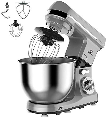 Professionale Planetaria Impastatrice 800W Capacità 5 Litri 6 Velocità Robot da cucina con...