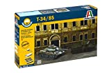Italeri 510007515 - 1:72 Russischer Panzer T-34/85 Fast Assembly Kit