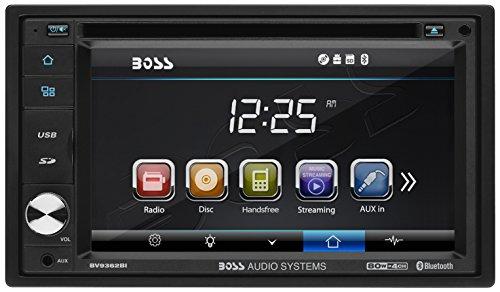 Boss BV9362BI Bluetooth-Enabled In - Dash Double - Din DVD/MP3/CD AM/FM Receiver