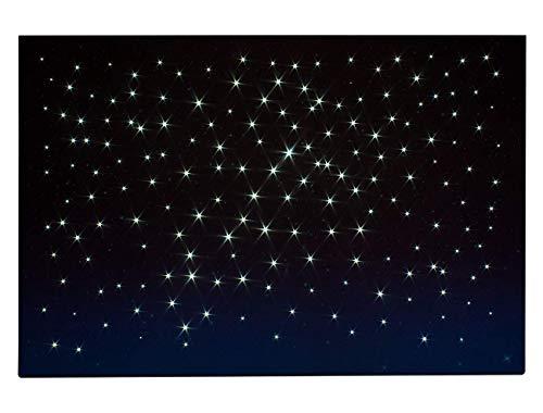 ROSSI ROSA Cielo Luminoso LED CM 60x40, Multicolore, 60 x 40 cm