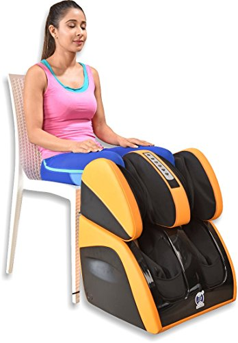 JSB HF111 Leg Foot Massager Machine for Calf Pain Relief & Knee Heating