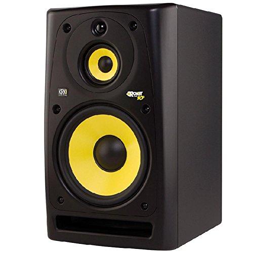 KRK ROKIT Powered 10-3 - Altavoces (PC, Mesa/estante, Incorporado, 140 W, 31-20000 Hz, 113 Db) Negro, Amarillo