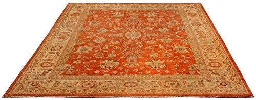 Kaiser Ziegler - Tappeto in Lana Vergine, 240 x 298 cm, Colore: Rosso