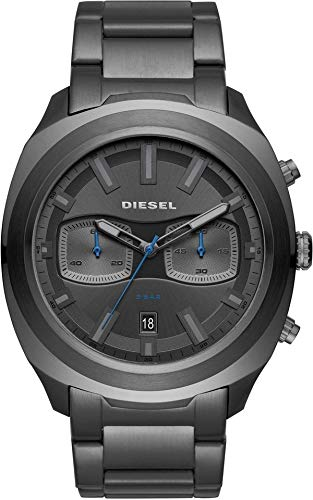 Diesel Orologio Cronografo Quarzo Uomo con Cinturino in Acciaio Inox DZ4510