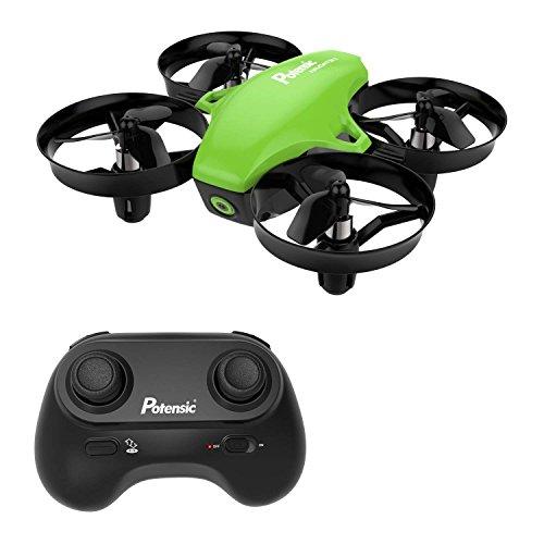 Mini Drone con Telecomando Quadricottero Funzioni Sospensione Altitudine Un Pulsante di Decollo...