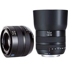 Carl Zeiss 32 mm f/1.8 TOUIT - Objetivo para Fujifilm X (distancia focal fija 32mm, apertura f/1.8, diámetro: 52mm) color negro