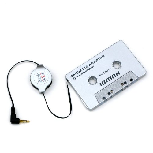 IOMAX - Adattatore Cassetta, Cavo Retrattile