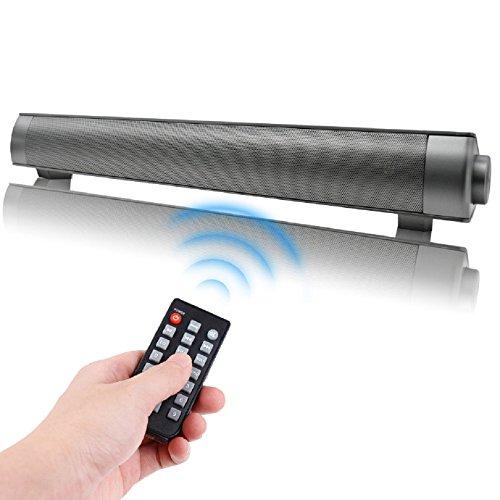 Soundbar Altoparlanti Portatili Relatori Bluetooth Diffusori Wireless, QSPORTPEAK Stereo per Home...