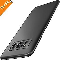 Kaufen Samsung Galaxy S8 Hülle, RANVOO Ultra Slim Dünn Leicht Hardcase Hochwertigem Kunststoff Handyhülle Anti-Kratzer Anti-Fingerabdruck Schutzhülle Bumper Cover Case für Samsung Galaxy S8 5.8 Zoll, (Schwarz)