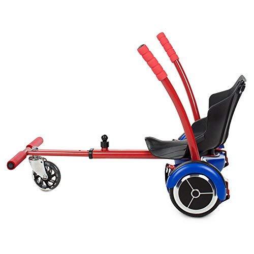 Kawasaki Elettrico Kart Sedia per Scooter, Rosso, Taglia Unica