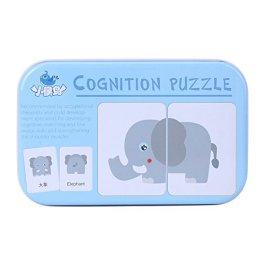 32PCS flash card puzzle cognitivo apprendimento precoce educazione di apprendimento giocattoli veico