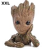 Baby Groot Pot de Fleur - Figurine pour Plantes et stylos - Parfait comme Cadeau - Je s'appelle BÉBÉ Groot