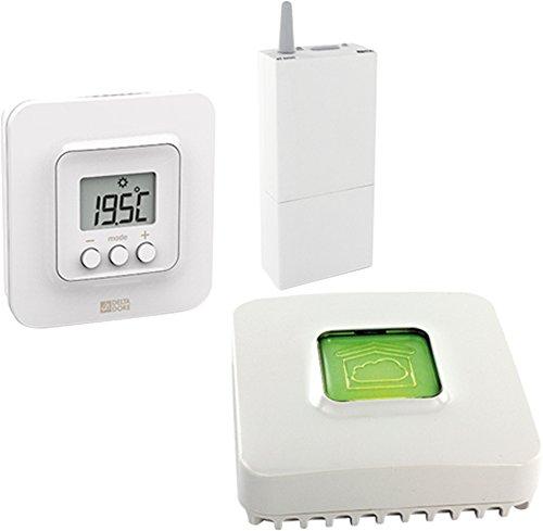 418vdvMHrJL [Bon Plan Delta Dore!]  Delta Dore 6050625 Tybox 5100 Pack de Thermostat d'ambiance connecté avec box domotique IP Tydom 1,0