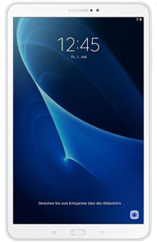 """Samsung Galaxy Tab A6 SM-T580 - Tablet de 10.1"""" FullHD (WiFi, Procesador Octa-core, 2 GB de RAM, 32 GB de almacenamiento, Android 7.0 actualizable), Blanco"""