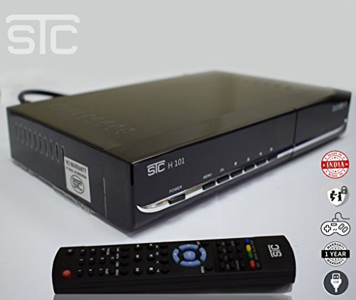 Swaroop Sales and Services Free to Air Satellite Receiver (Black 3)