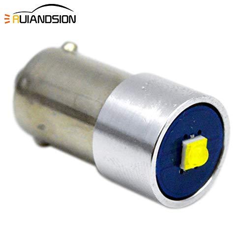 Ruiandsion - Lampadina LED 6 V BA9S BA9 53 57 1895 64111 super luminosa CREE 1SMD Chipset LED per...