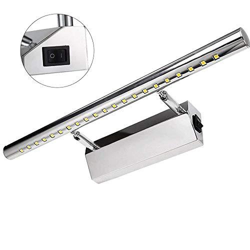 LED Lampada da Specchio 9W 39LEDs SMD 5050, Specchio Armadio Lampada da Bagno, Luce per Trucco,...