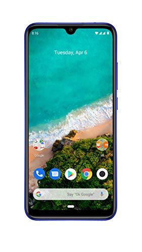 Xiaomi Mi A3 (Not Just Blue, 4GB RAM, 64GB Storage) - Extra 1,000 Off on Exchange & 6 Month No Cost EMI