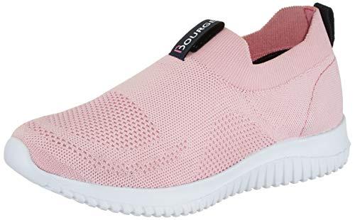 Bourge Women's Micam-102 L.Pink Running Shoes-7 UK (39 EU) (8 US) (Micam-102-07)