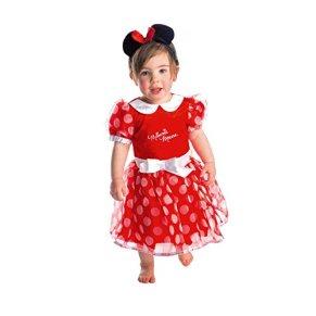 Disney - Disfraz de Minnie Mouse infantil, talla 6-12 meses (DCMIN-DRR-06)