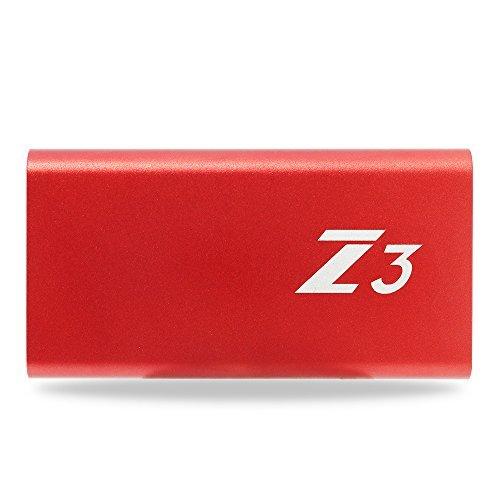 KingSpec - Hard disk esterno SSD portatile Z3, USB C 3.1, Gen1 64 Gb