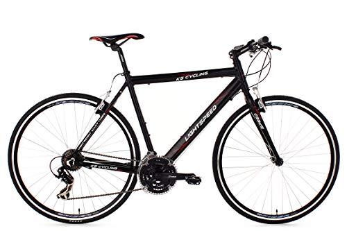 KS Cycling Fitnessbike 28\'\' Lightspeed schwarz Alu-Rahmen RH56cm