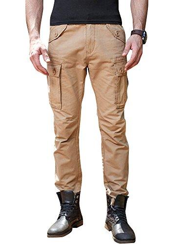 disponibilità nel Regno Unito f5dba 7eb01 Casual militari Combat Pantaloni da Uomo sportivi Casual Pantaloni Cargo -  You Combat