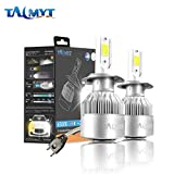 H7 LED Faro dell'automobile Kit 72W 3800LM 6500K Bianco Lamps lampadine led h7