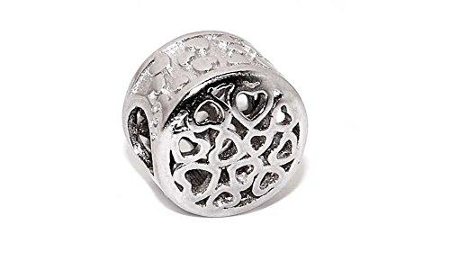 e9a0499ea44f 19 Charms 100% Plata de Ley 925 para pulseras para charms tipo Pandora,  Chamilia, Biagi, Swarovski. Abalorios,beads,dijes,charms plata