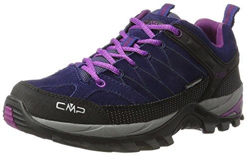 CMP-Damen-Rigel-Low-WP-Trekking-Wanderhalbschuhe-Blau-Cobalto-Purple-39-EU