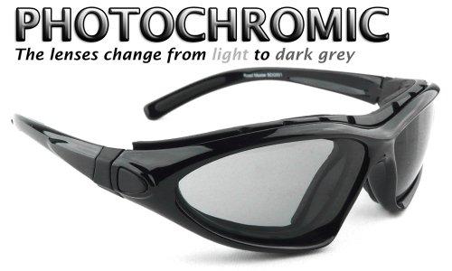 Bobster Roadmaster-Gafas de lentes de gafas de sol-photochomic