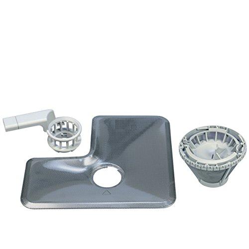Miele, set di filtri per lavastoviglie, fino e grosso, con maniglia, 9632790