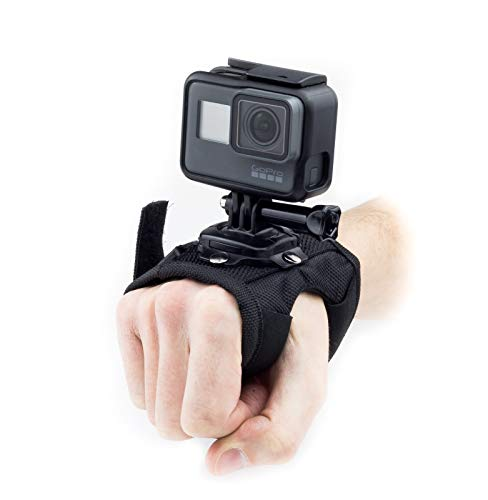 Digicharge Action Camera Cinturino a Mano per GoPro Hero Akaso Crosstour Campark Fitfort Garmin VIRB Apeman Sony Camkong Motorola Victure Kitvision Nikon Go PRO Cam