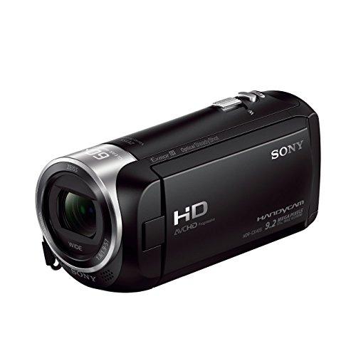 Sony HDR-CX405 Videocamera Handycam, Sensore CMOS Exmor R, 3.1 mm Retroilluminato, Obiettivo ZEISS...